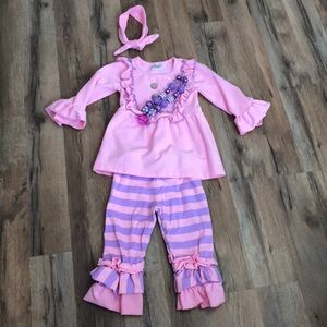 Other - 4pc Striped Set